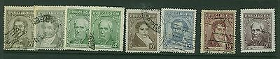 Argentina - 1939 Portraits - Used