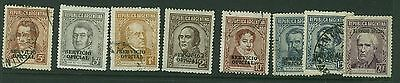 Argentina - 1938 Portraits -Officials  Used