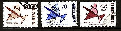 Argentina - 1971 Airmails - Used
