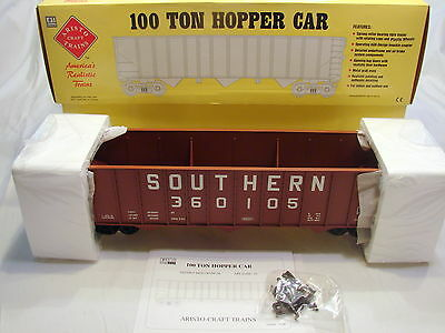 Aristocraft 41413P Southern Railway 100 Ton Hopper Car -  New