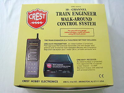 Aristocraft Crest Electronics CRE-55470A Walk Around Control System - NEW