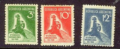 Argentina - 1932 Refrigeration Congress set MH