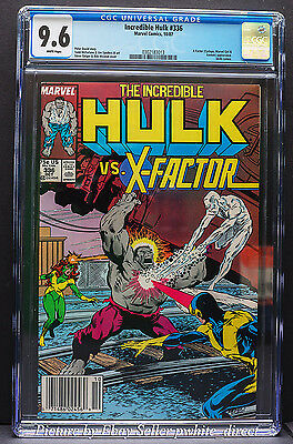 Incredible Hulk #336, CGC: 9.6, (Oct 1987, Marvel)
