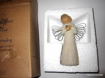 NEW* Willow Tree Angel ANGEL OF HEALING Comfort Caring Tenderness Hand Painted
