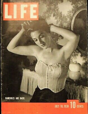 LIFE July 18,1938 Camisoles Are Back / Facism in Canada / Worlds Highest Falls