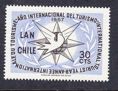 Chile - 1967 Tourism Year MH 590