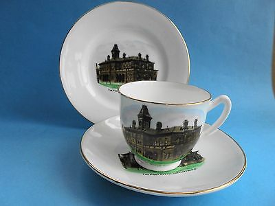 The Post Office Shepparton Vic Trio Teacup Saucer Plate Royal Stafford Like New