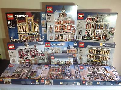 Lego Modulars 10 sets from 10197-10255 New/Sealed/Retired**Free Shipping**