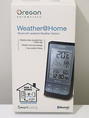Brand New Oregon BAR218HG Bluetooth Weather Station