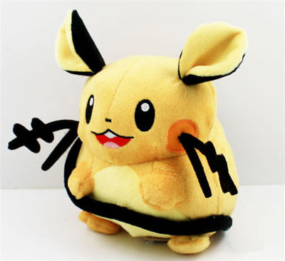 New Pokemon Dedenne Plush Soft Toy Stuffed Animal Doll 6.5""