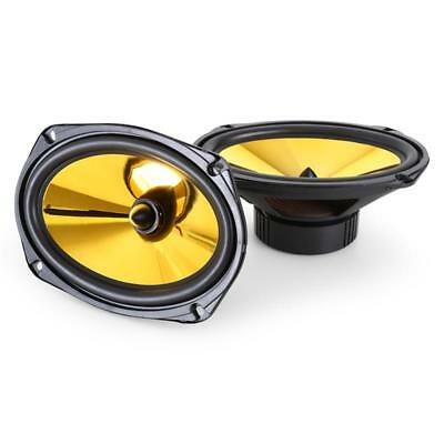 6x9 INCH PAIR HIFI IN CAR AUDIO SPEAKERS 1000W 15 x 23cm DOOR SHELF MUSIC SYSTEM