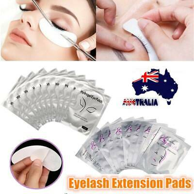 50 Pairs Under Eye Curve Eyelash Pads Gel Patch Lint Free Lash Extension Beauty
