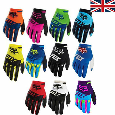 11 Colors  DIRTPAW Full Finger Gloves Motorbike Offroad Cycling Racing MTB UK