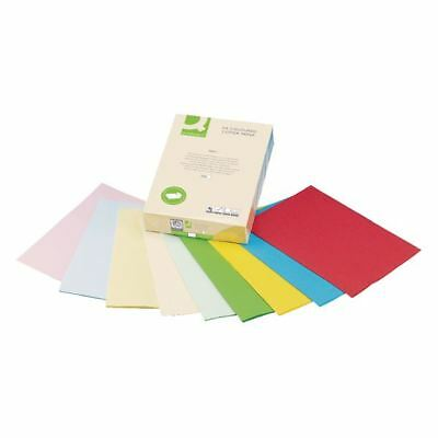 Q-Connect Coloured A4 Copier Paper 80gsm Cream Ream (Pack of 500) [KF01092]