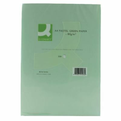 Q-Connect Green A4 Copier Paper 80gsm (Pack of 500) KF01093 [KF01093]