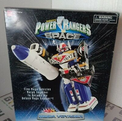 Power Rangers in Space Mega Voyager Megazord boxed