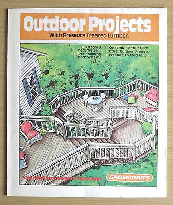Vintage Outdoor Projects With Pressure Treated Lumber Book By Grossman's