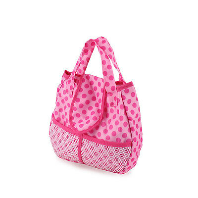 Meired dot cloth bag Wearfor 43cm Baby Born zapf (only sell bag )