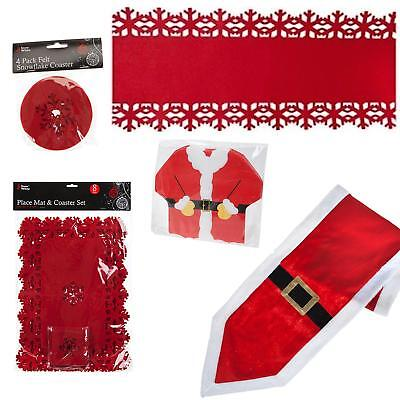 Christmas Tableware - Place Mats, Table Runner, Coasters, Napkins