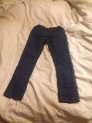 Girls size 6 blue denim jegging by seed