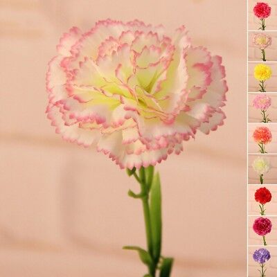 Artificial Carnation Simulation Flower Pastoral Style Ornement Home Decoration
