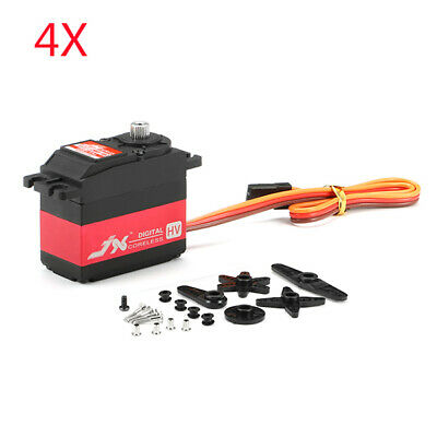 [NEW] 4X JX Servo PDI-HV5932MG 30KG Large Torque 180° High Voltage Digital Serv