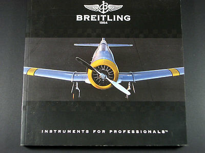 Rare Genuine Breitling 1884 / Instruments For Professionals / Watches Catalogue