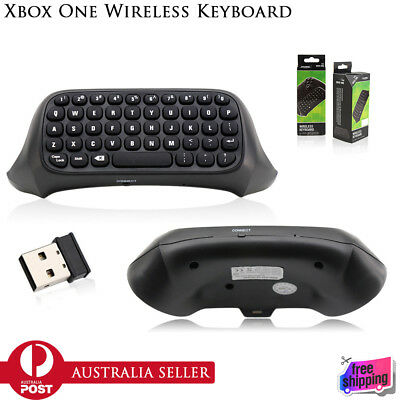 NEW Wireless Chatpad Message Keyboard + 2.4G Receiver For Xbox One Controller