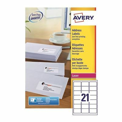 Avery Quickpeel L7160-100 Laser Address Labels  [AVL7160]