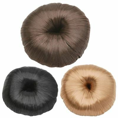 Horka Ladies Deluxe Hair Donut Bun Ring Horse Riding Competition Accessories