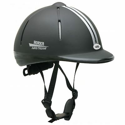 Horka Ladies Mens Safety Competition Horse Riding Cycling Airstream Sport Helmet