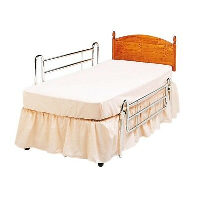 Divan bed safety rails mobility bedroom aid - adjustable for different beds used