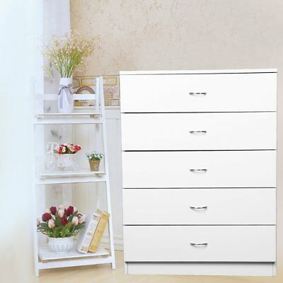 Large Chest of 5 Drawers Bedroom furniture Hallway storage Boldon Range Cabinet