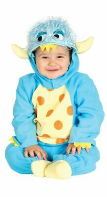 Toddlers Baby Cute Blue Monster Fancy Dress Costume Outfit Halloween