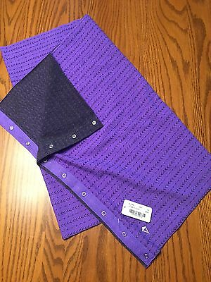 Ivivva NWT New By Lululemon Scarf Purple /gray Village Chill One Size 8 10 12 14
