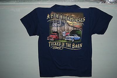 Wholesale lot of 12  car tee shirts  Ford or GM  1 Dozen.