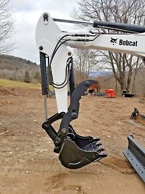 Bobcat Hydraulic Mini Excavator Thumb Pin On Grapple Clamp Claw 335 435 Xchange