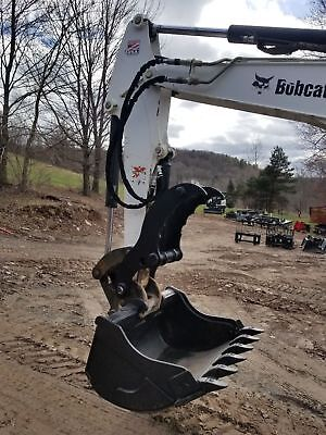 Bobcat Hydraulic Mini Excavator Thumb Pin Grapple Clamp Claw E42 E45 E50 E55 E60