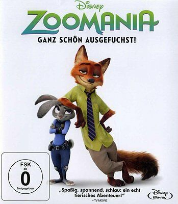 Zoomania - Disney - Blu-Ray