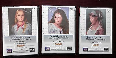 3 Portrait Video Combo Special For $160 - Art Instruction DVDs
