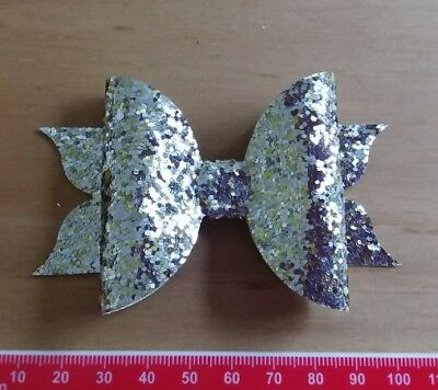 Flutter-Bow MEDIUM  plastic Bow Making Template 3 Pieces - Hair Bow Templates