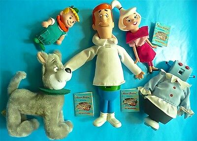 The Jetsons Hanna-Barbera Applause Doll figure lot 1990 tags