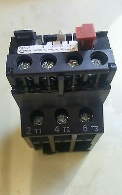 thermal overload relay 5.5 - 8 amp cr09/8