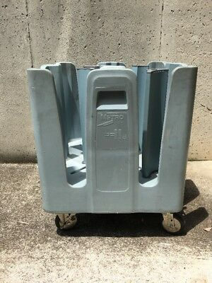 Metro Plate Caddy Poker Chip Dish Dolly Trolley Cart PCD 11A Blue