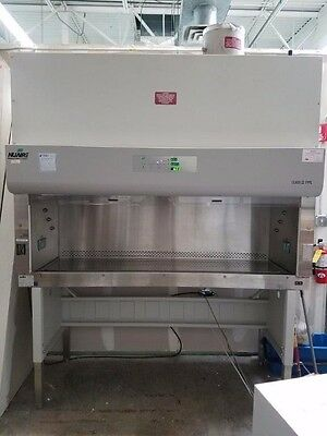 NUAIRE NU-S430-600 BIOLOGICAL SAFETY CABINET BIO FUME HOOD with stand
