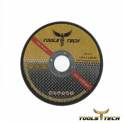 "25 Pack 4-1/2""x.040""x7/8"" Cut-off Wheel - Metal & Stainless Steel Cutting Discs"