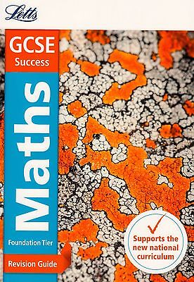 Letts GCSE Success Maths Foundation Tier Revision Guide BRAND NEW BOOK (P/B 2015