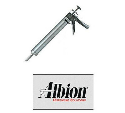 Albion 20oz Caulking Gun DL-45-01 20oz 1 1/2 Pint Deluxe Manual Bulk Gun