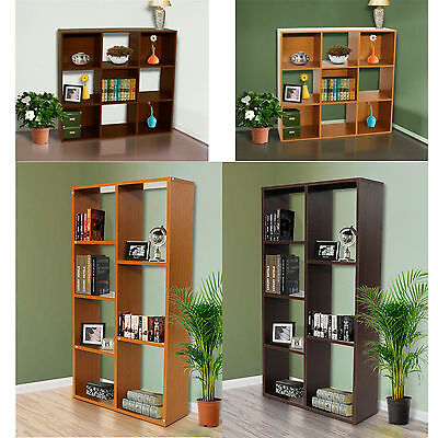New Shelves Storage Display Unit 6,7 Tiers and Cube Book Shelf & CD/DVD Design
