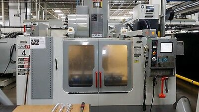 Used Haas VF-4SS CNC Vertical Machining Center 50x20 Mill 4th ready 12k rpm 2003